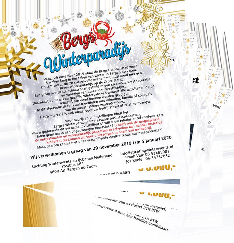 Brochure sponsormogelijkheden Bergs Winterparadijs